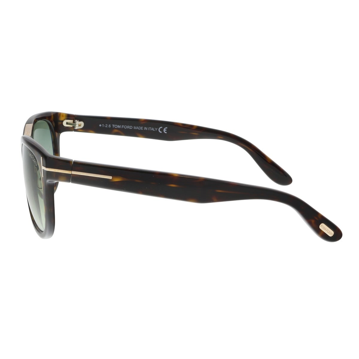 b919aaf5031 Shop Tom Ford FT0045 S 52P JACK Tortoise Square Sunglasses - 51-20-135 -  Free Shipping Today - Overstock - 19223160