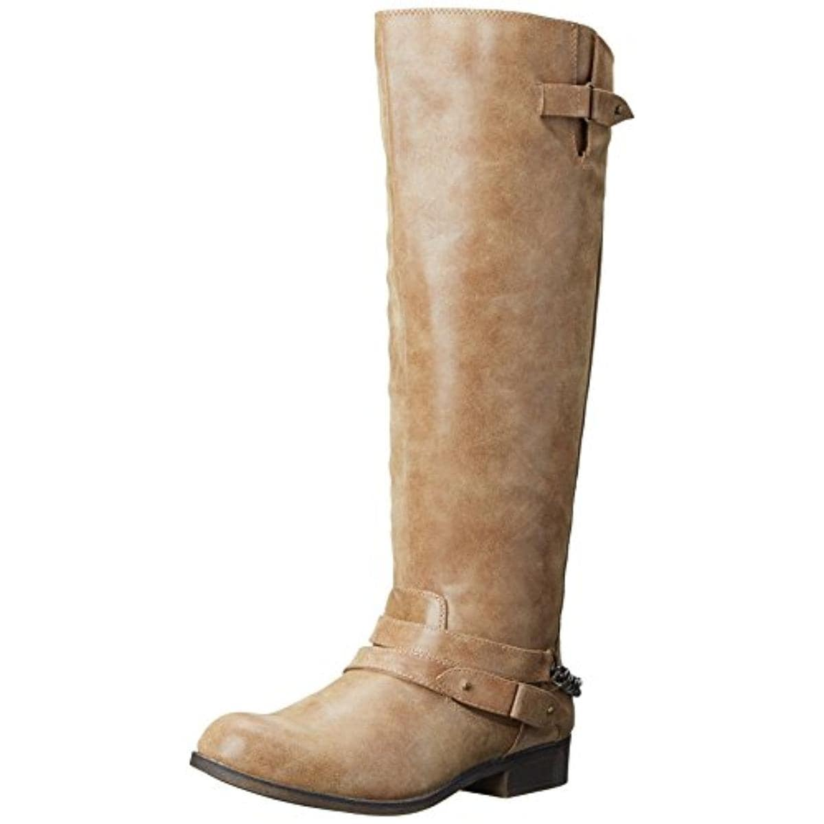 e733044c68f Shop Madden Girl Womens Canyon Riding Boots Faux Leather Wide Calf - Free  Shipping On Orders Over  45 - Overstock - 13936639