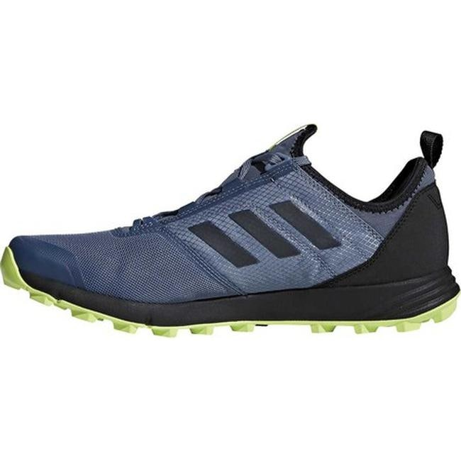 quality design fa67a 5984e Shop adidas Men s Terrex Agravic Speed Trail Running Shoe Raw Steel Black Solar  Slime - Free Shipping Today - Overstock - 19738954