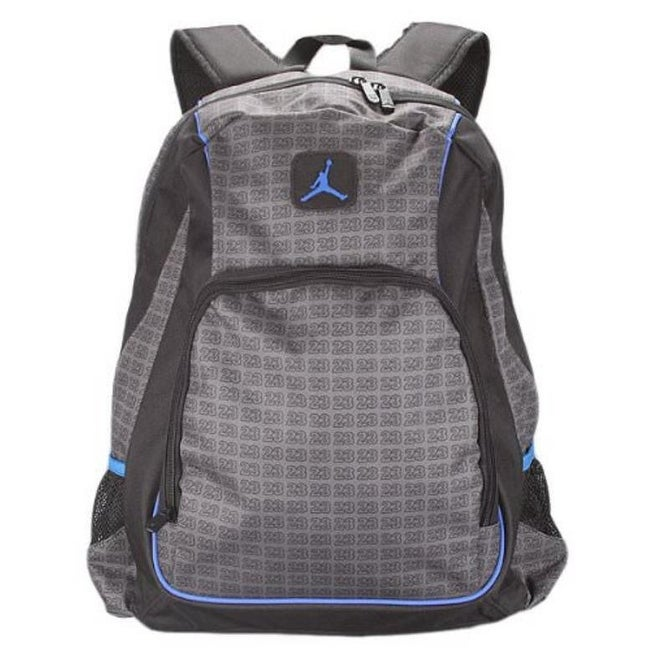 9730601d6368 Shop Nike Jordan Jumpman 23 Big Students School Backpack with Laptop Sleeve  9A1223 - Free Shipping On Orders Over  45 - Overstock - 22544486