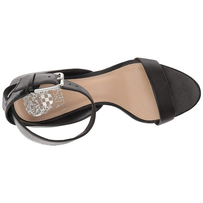 dbe3352b942 Shop Vince Camuto Women s Caitriona Heeled Sandal - 7 - Free Shipping Today  - Overstock.com - 26056659