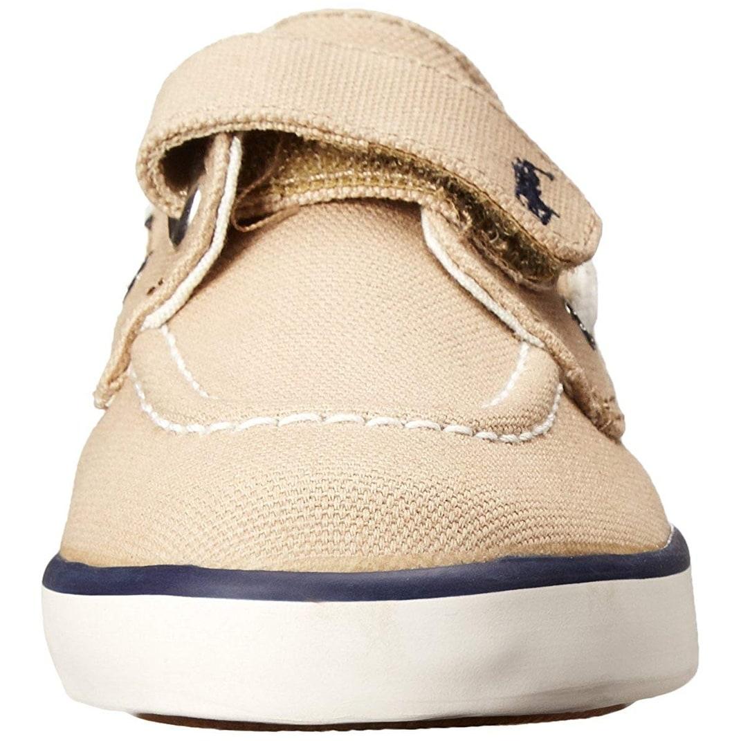 80e81d609f Polo Ralph Lauren Kids Sander EZ Canvas Fashion Boat Shoe (Toddler/Little  Kid)