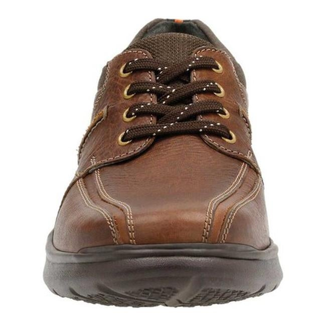 99187818ac Shop Clarks Men s Cotrell Walk Bicycle Toe Shoe Tobacco Leather - On Sale -  Free Shipping Today - Overstock - 14165528