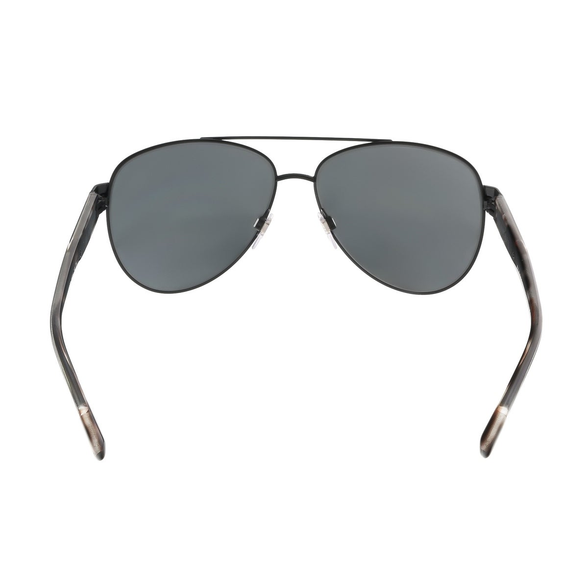 3d7607121bae Shop Burberry BE3084 122887 Matte Black Check Aviator Sunglasses - Free  Shipping Today - Overstock - 15408990