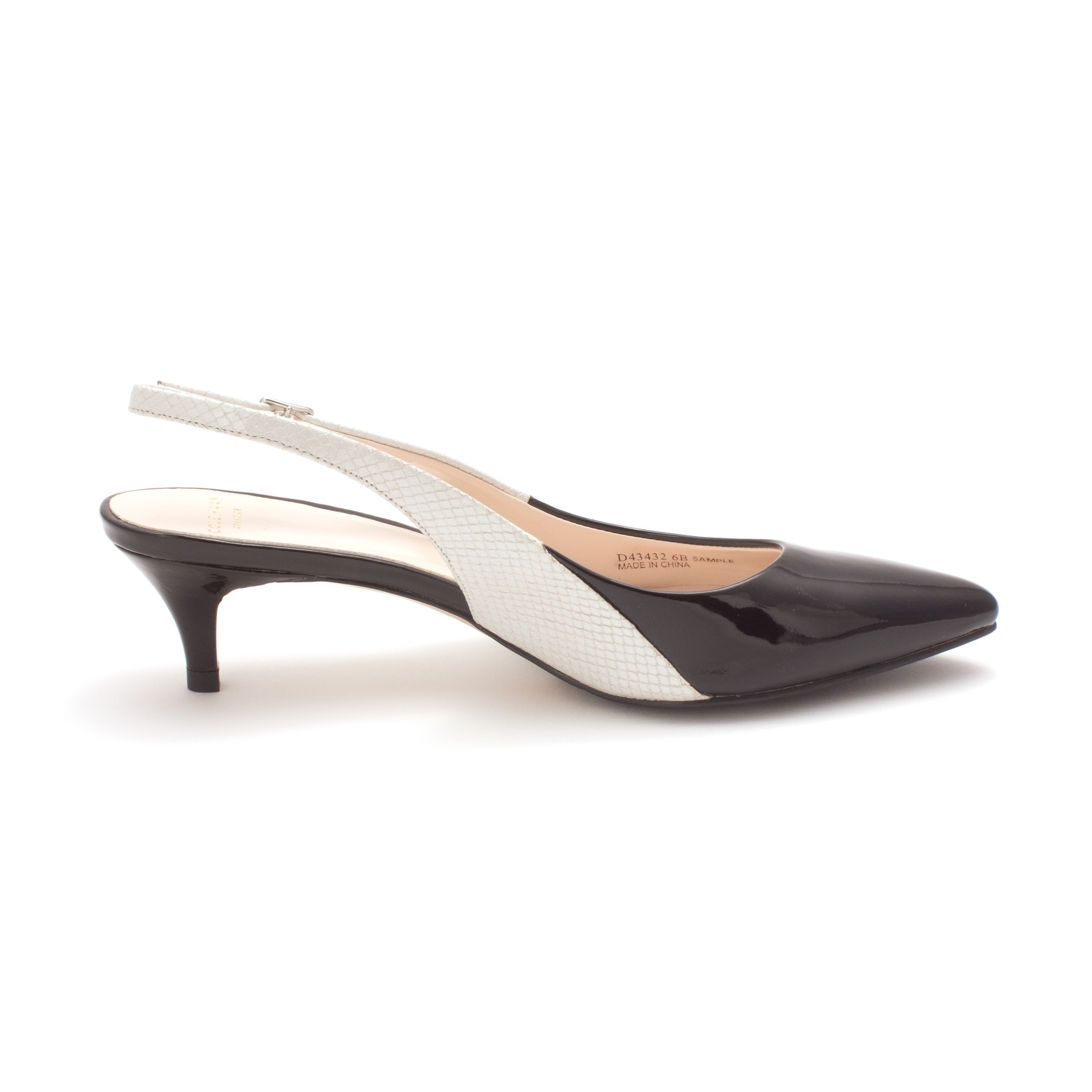 a14ff933ede2 Shop Cole Haan Womens 14A4063 Pointed Toe SlingBack Classic Pumps - 6 -  Free Shipping Today - Overstock - 19974509