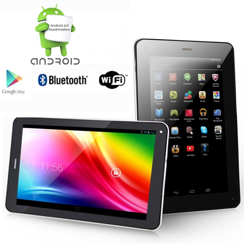 "Indigi® Ultra Slim 7.0"" Android Marshmallow TabletPC w/ Bluetooth + WiFi + Dual Camera + Google Play Store"