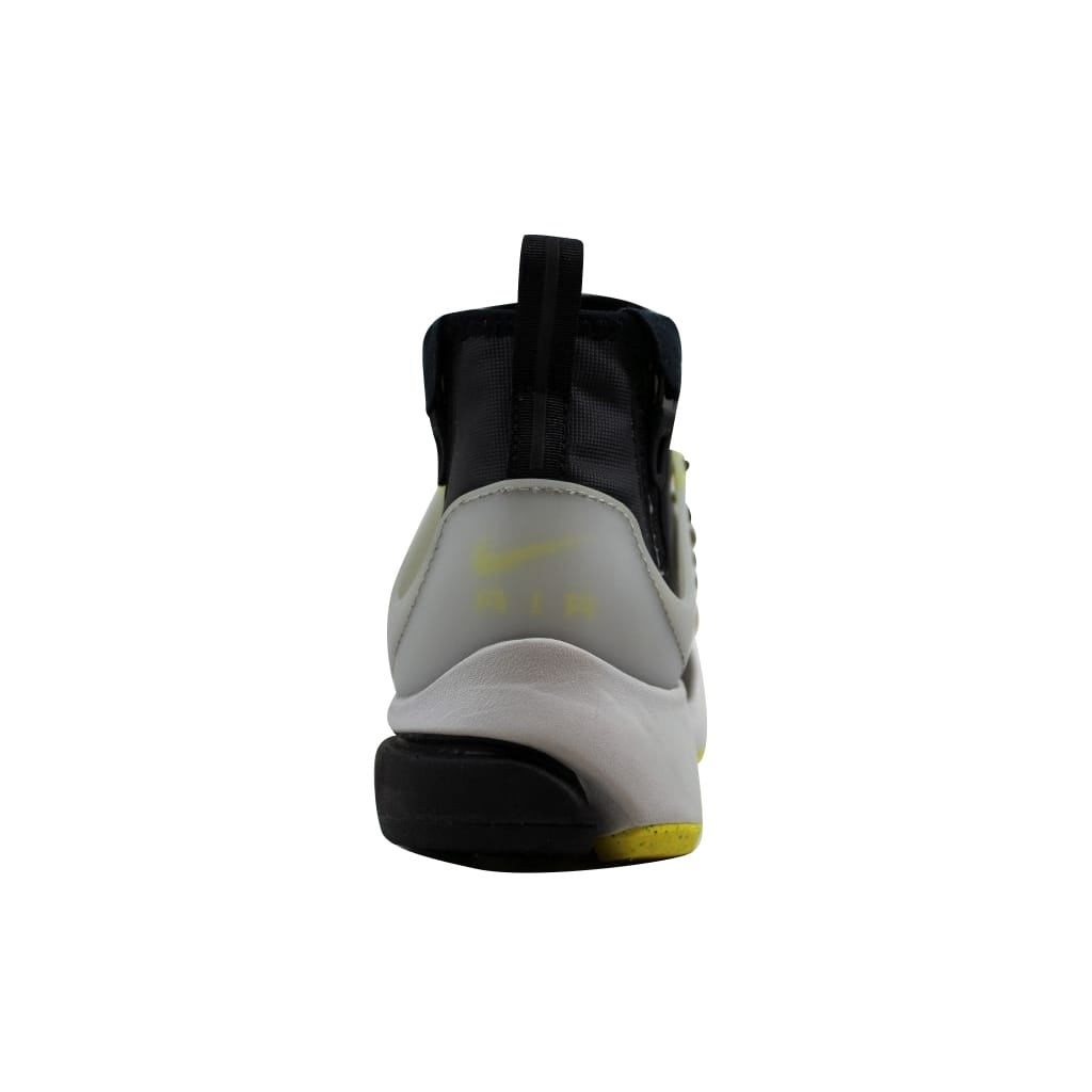 949ddd1ad27f Shop Nike Men s Air Presto Mid Utility Black Yellow Streak 859524-002 -  Free Shipping Today - Overstock - 21893414