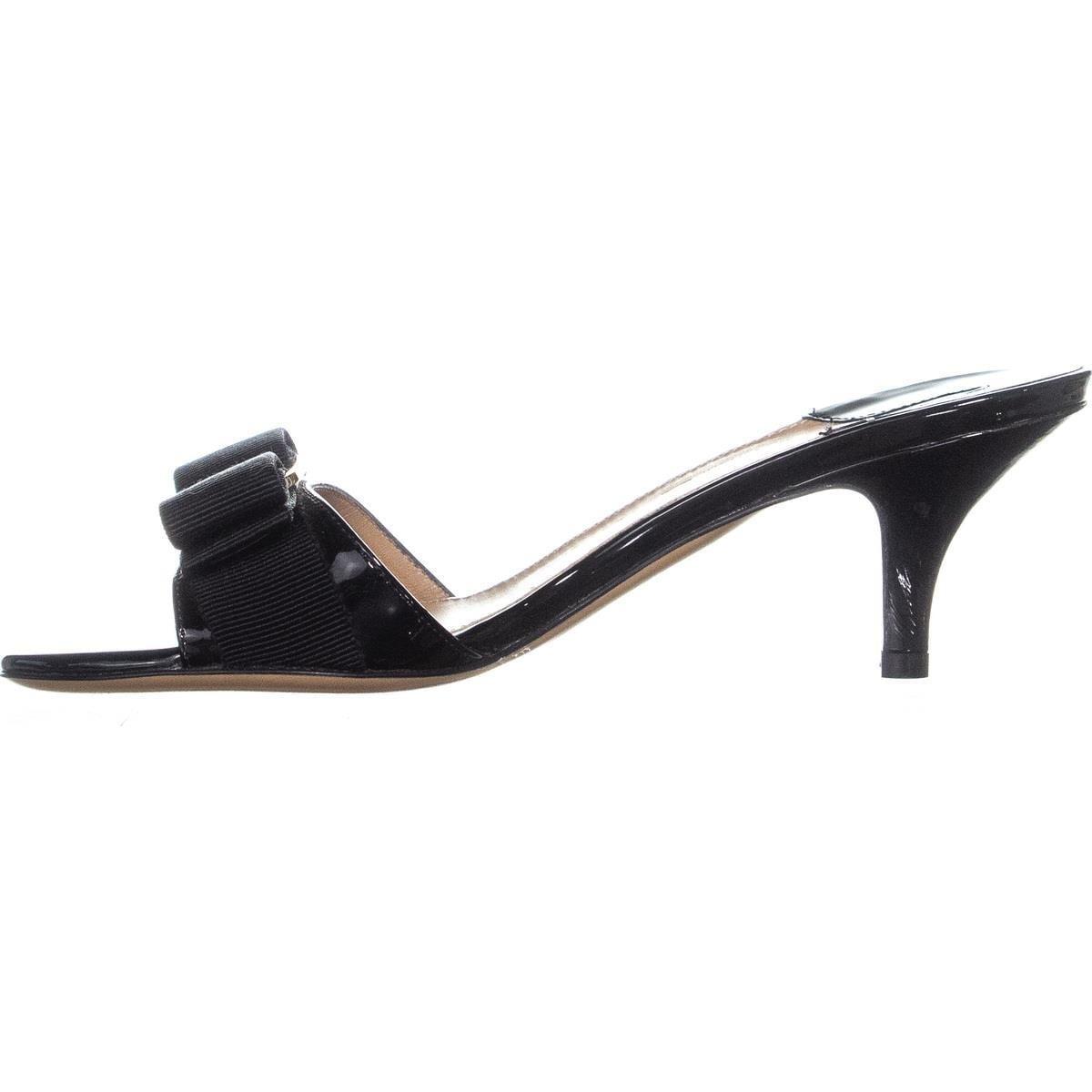 6f25e74dc7 Shop Salvatore Ferragamo Glory1 Mule Kitten Heels, Nero - Free Shipping  Today - Overstock - 25363704