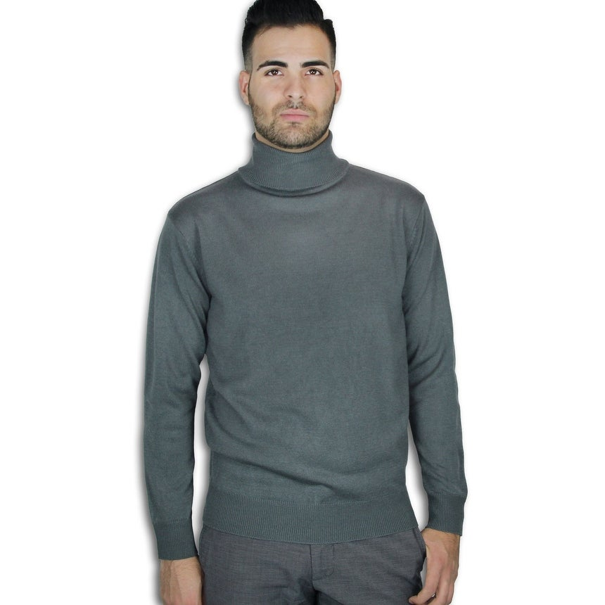 Shop Men\u0027s Turtle Neck Sweater (SW,753) , On Sale , Free Shipping On Orders  Over $45 , Overstock.com , 15367960