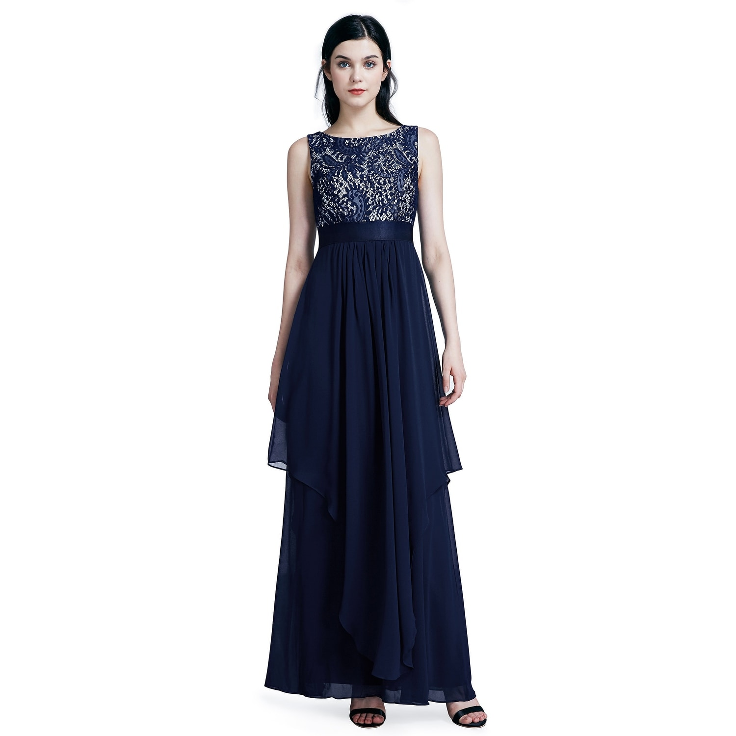 9eb9ce5d19d52 Ever-Pretty Women's Lace Long Evening Party Maxi Dresses for Women 08217