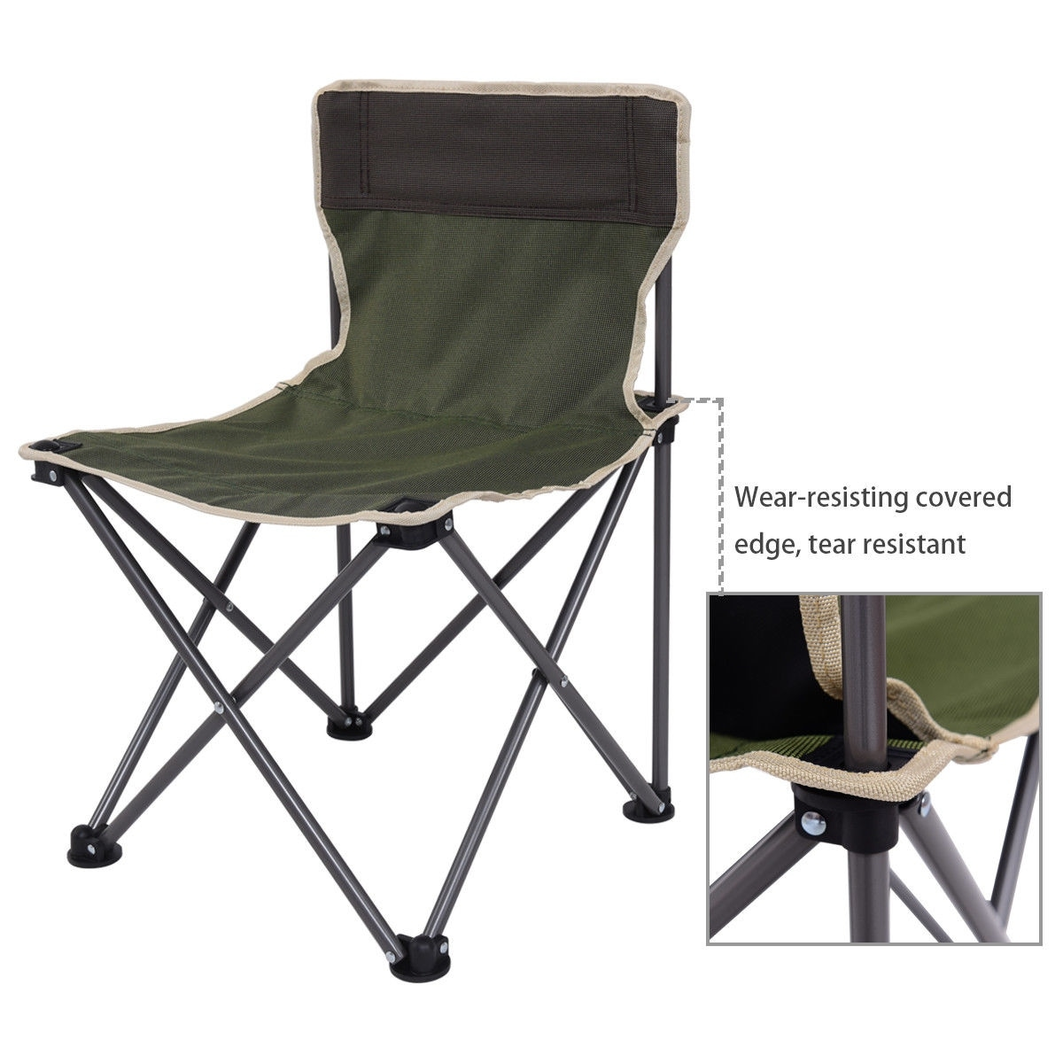 Costway Portable Folding Table Chairs Set Outdoor Camp Beach Picnic W Carrying Bag On Free Shipping Today 20461937