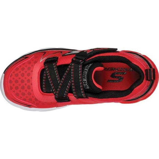 1d12848a85d8 Shop Skechers Boys  Thermoflux Z Strap Sneaker Red Black - Free Shipping On  Orders Over  45 - Overstock.com - 23558155