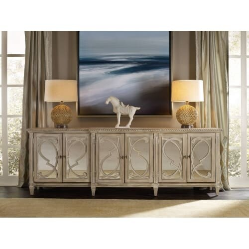 Shop Hooker Furniture 5591 85001 105 Inch Wide Poplar Wood Media Cabinet  From The Sol   N/a   Free Shipping Today   Overstock.com   20036149