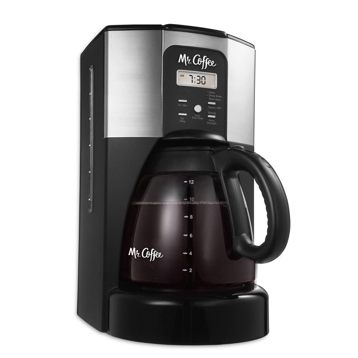 Shop Mr Coffee Bvmc Ecx46 Dts Performance Brew 12 Cup Programmable