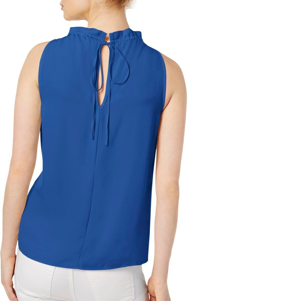 77e487ef9a3f2 Shop Kensie Womens Halter Top High-Neck Crepe - Free Shipping On Orders Over  $45 - Overstock - 20895606