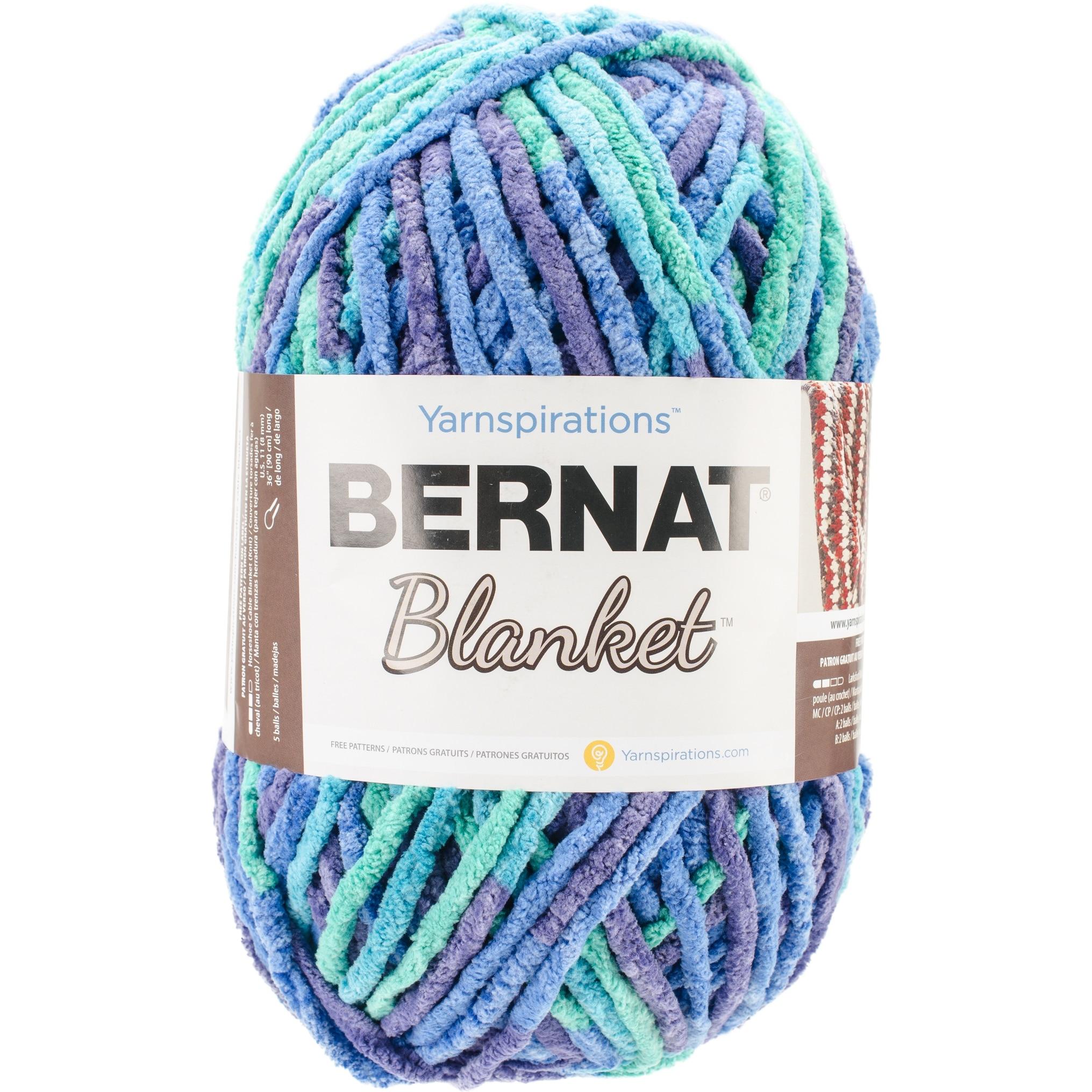 Shop Bernat Blanket Big Ball Yarn-Ocean Shades - Free Shipping On ...