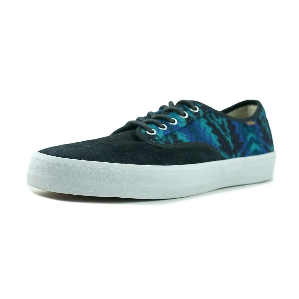 ec8101ecba Shop Vans Era Men Round Toe Canvas Blue Skate Shoe - Free Shipping On  Orders Over  45 - Overstock - 16804124