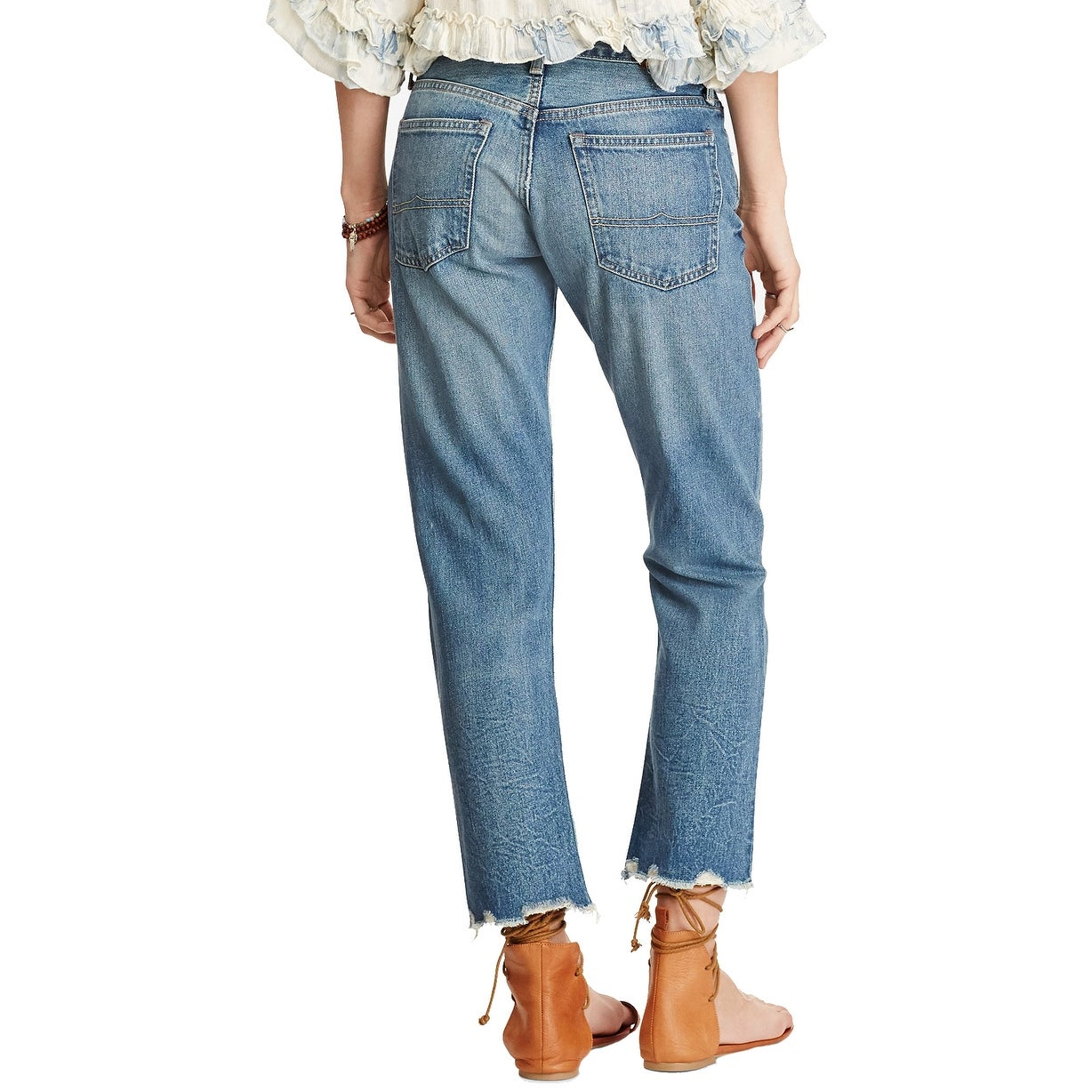 e81af46ea2033 Shop Denim Supply Ralph Lauren High Rise Tapered Jeans Phillips - Free  Shipping On Orders Over $45 - Overstock - 22087818