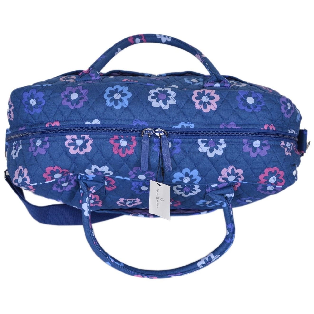 c033df002 Shop Vera Bradley ELLIE FLOWERS Floral Cotton Weekender Duffle Travel Bag  Purse - Free Shipping Today - Overstock - 21219270