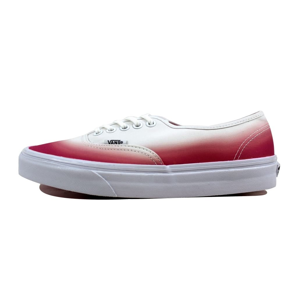0aede4d27f5f2f Shop Vans Men s Authentic Pink True White Ombre VN-0 ZUKFIT Size 7 - Free  Shipping On Orders Over  45 - Overstock - 21893897