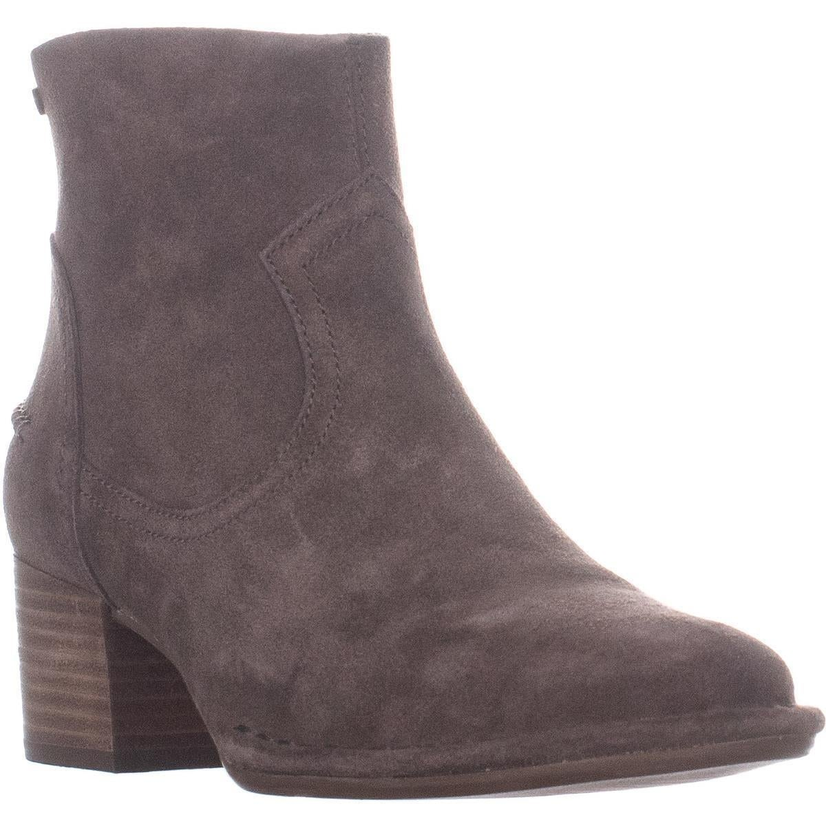 806915074ab UGG Bandara Back Zip High Ankle Boots, Mysterious