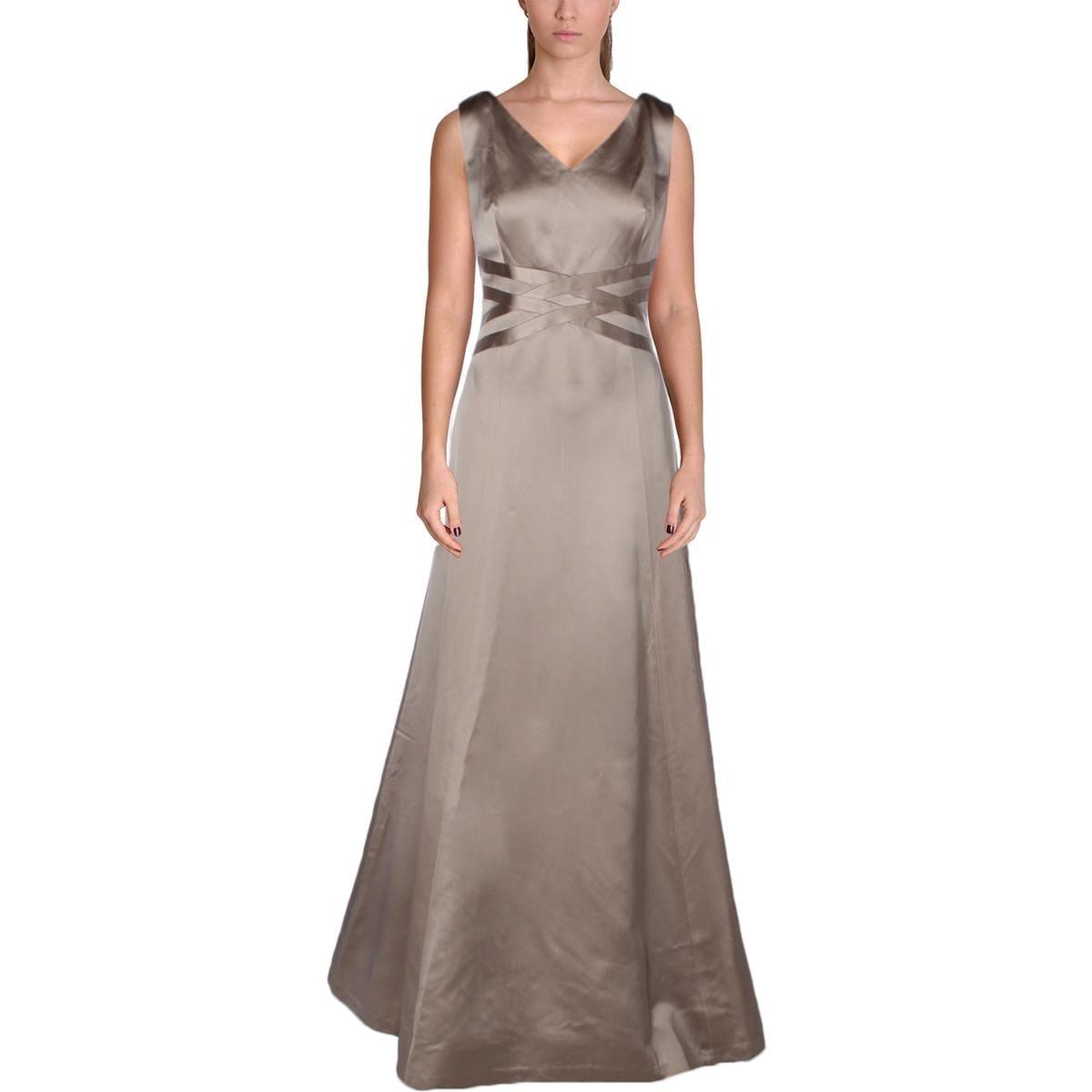 Kay Unger Womens Evening Dress Sleeveless V Neck - Free Shipping ...