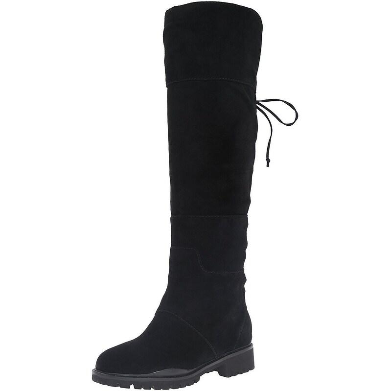 b365c443e5b Shop Nine West Women s Mavira Suede Knee-High Boot - Free Shipping Today -  Overstock.com - 17009832