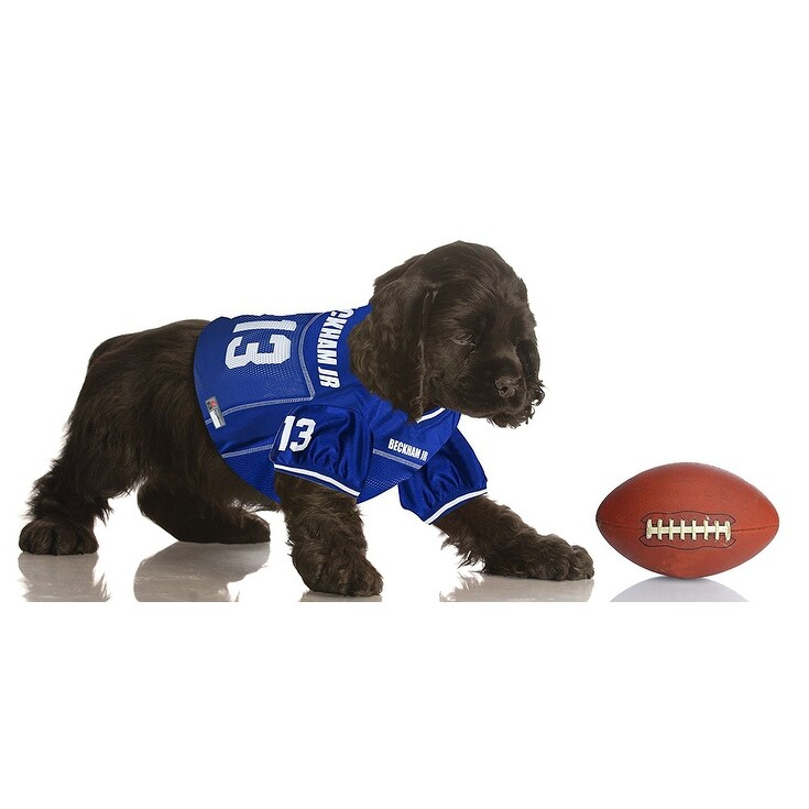 c5371c0da Shop Odell Beckham Jr Pet Jersey - On Sale - Free Shipping On Orders Over  $45 - Overstock - 19860057