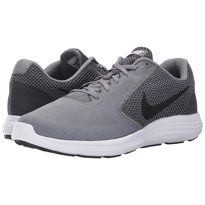 meet 10f33 29698 Shop NIKE Men s Revolution 3 Running Shoe, Cool Grey Black White - Free  Shipping Today - Overstock - 17941812