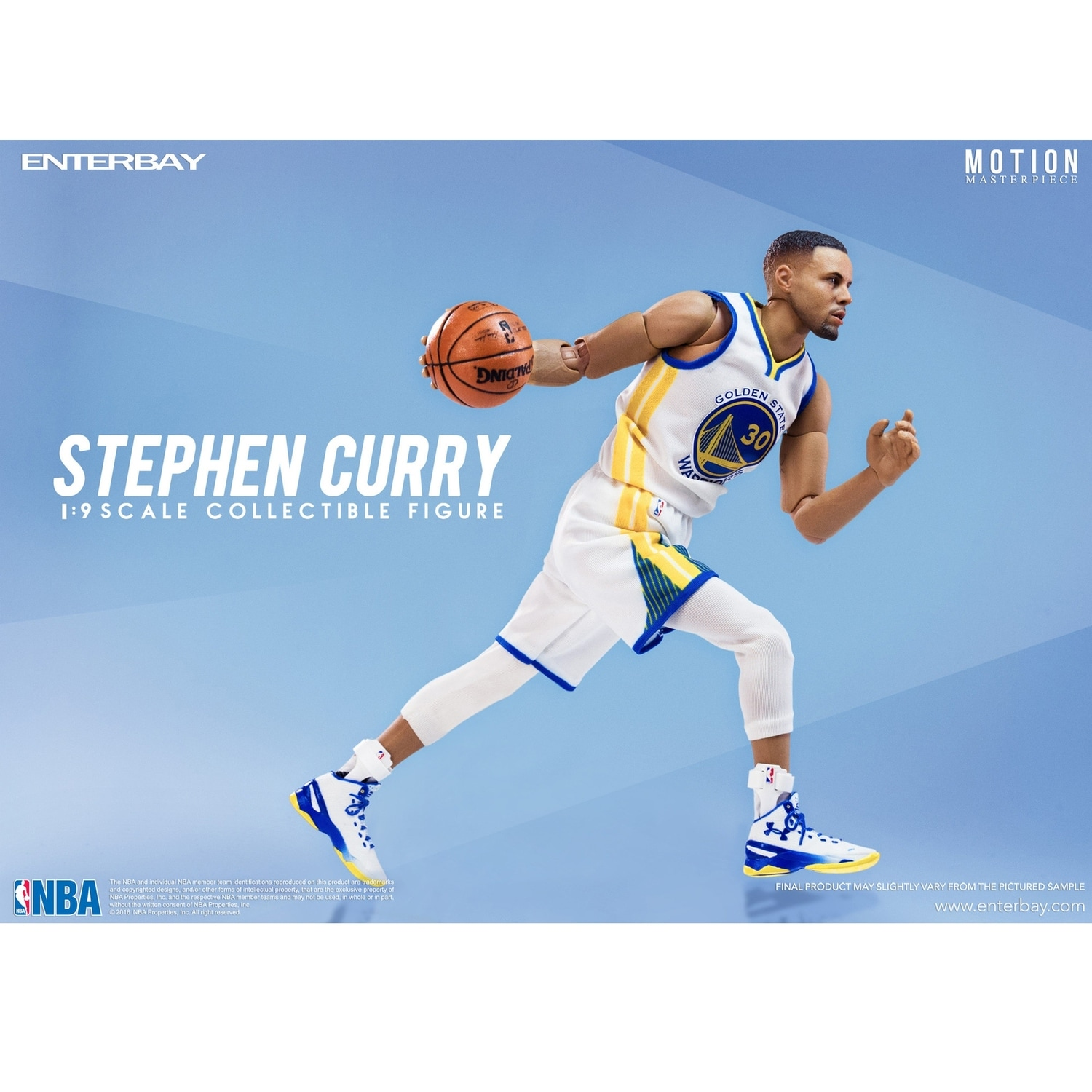 fb93d442a155 Shop Enterbay X NBA Collection Stephen Curry 1 9 Action Figure Collectible  Figurine - multi - Free Shipping Today - Overstock - 12316292
