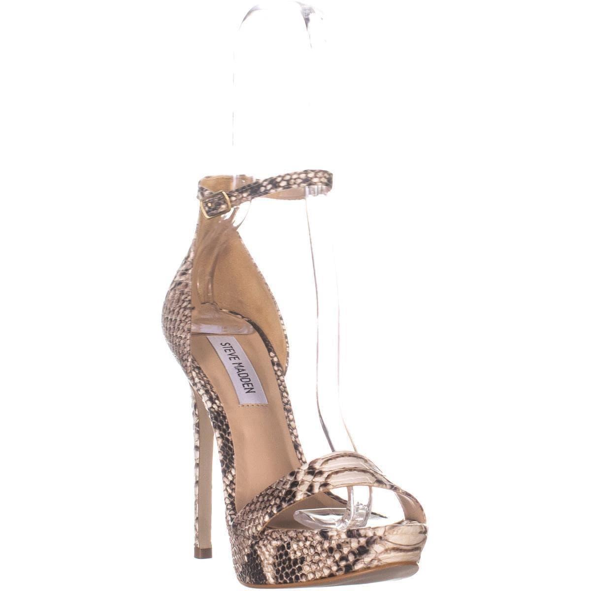 2f7c25c99c9 Steve Madden Starlet Ankle Strap Heeled Sandals,