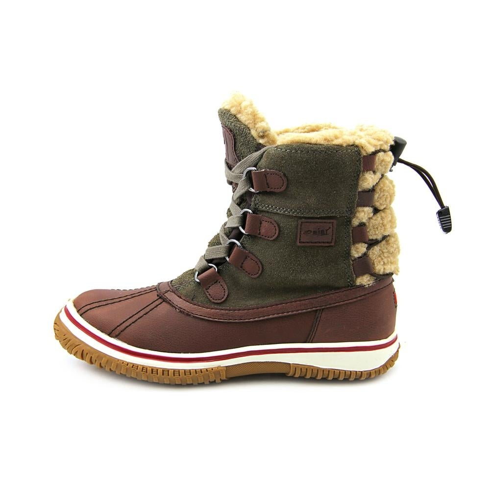 3bcc853e1 Shop Pajar Iceland Women Round Toe Leather Brown Winter Boot - Free  Shipping Today - Overstock - 15318895