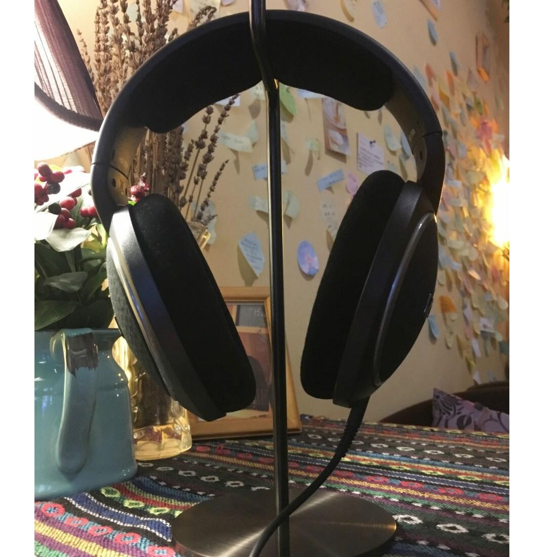 Headphone Holder Shelf Rack Game Headset Stand Hanger Dock Bracket Black for PC - Free Shipping