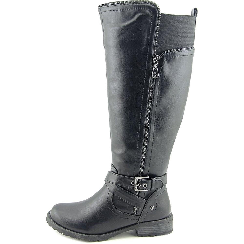 fdfd213c5cff Shop GUESS Womens Halsey Wide Calf Closed Toe Knee High Fashion ...