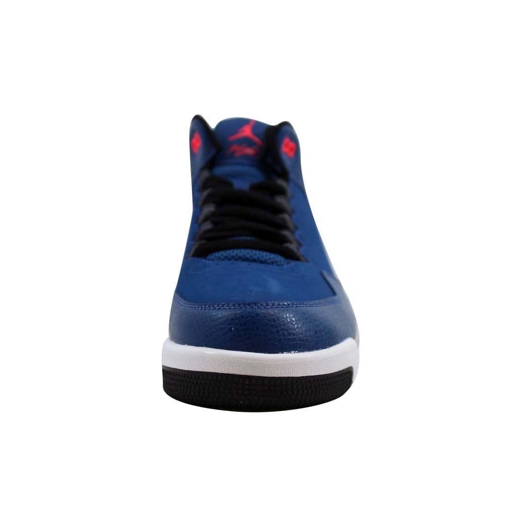 814a4e34016 Shop Nike Men s Air Jordan Flight Origin 2 French Blue Infrared 23-Black- Wolf Grey705155-420 - Free Shipping Today - Overstock - 22360618