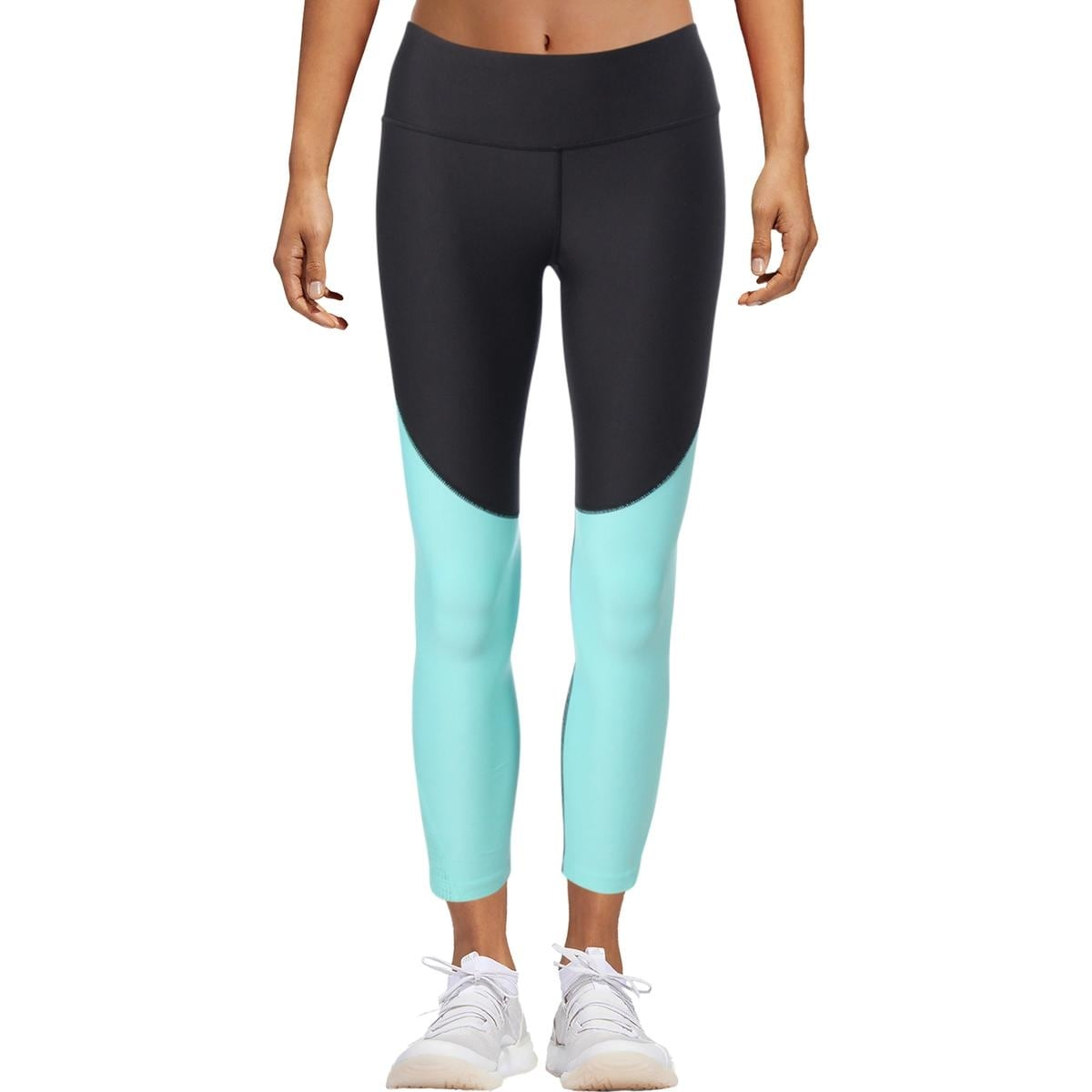 643c61c927c49c Shop Under Armour Womens Heat Gear Athletic Leggings Mesh Inset Fitted -  Free Shipping On Orders Over $45 - Overstock - 25669801