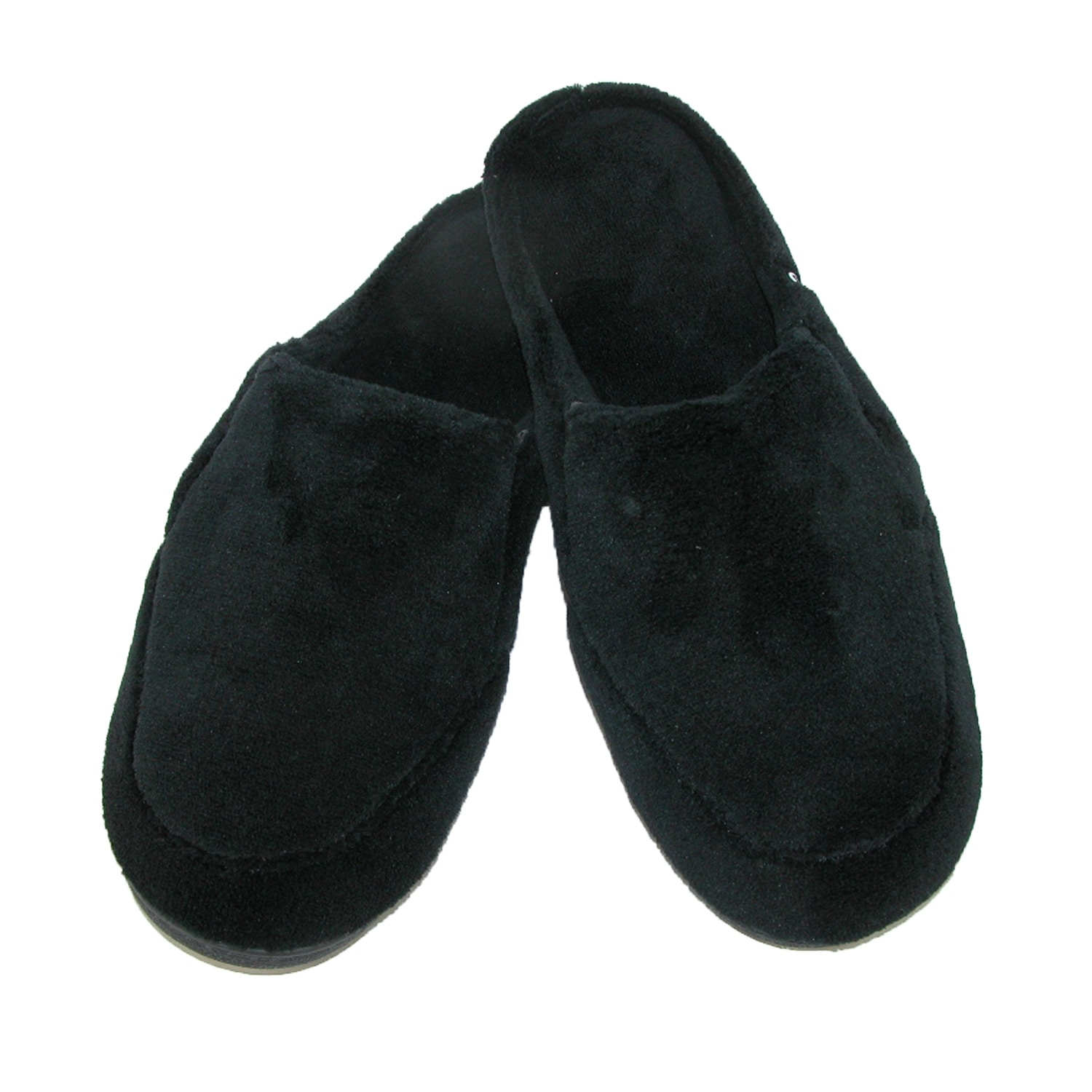 99c3fd99a Shop Isotoner Men s Microterry Open Back Clog Slippers - Free Shipping On  Orders Over  45 - Overstock - 14311249