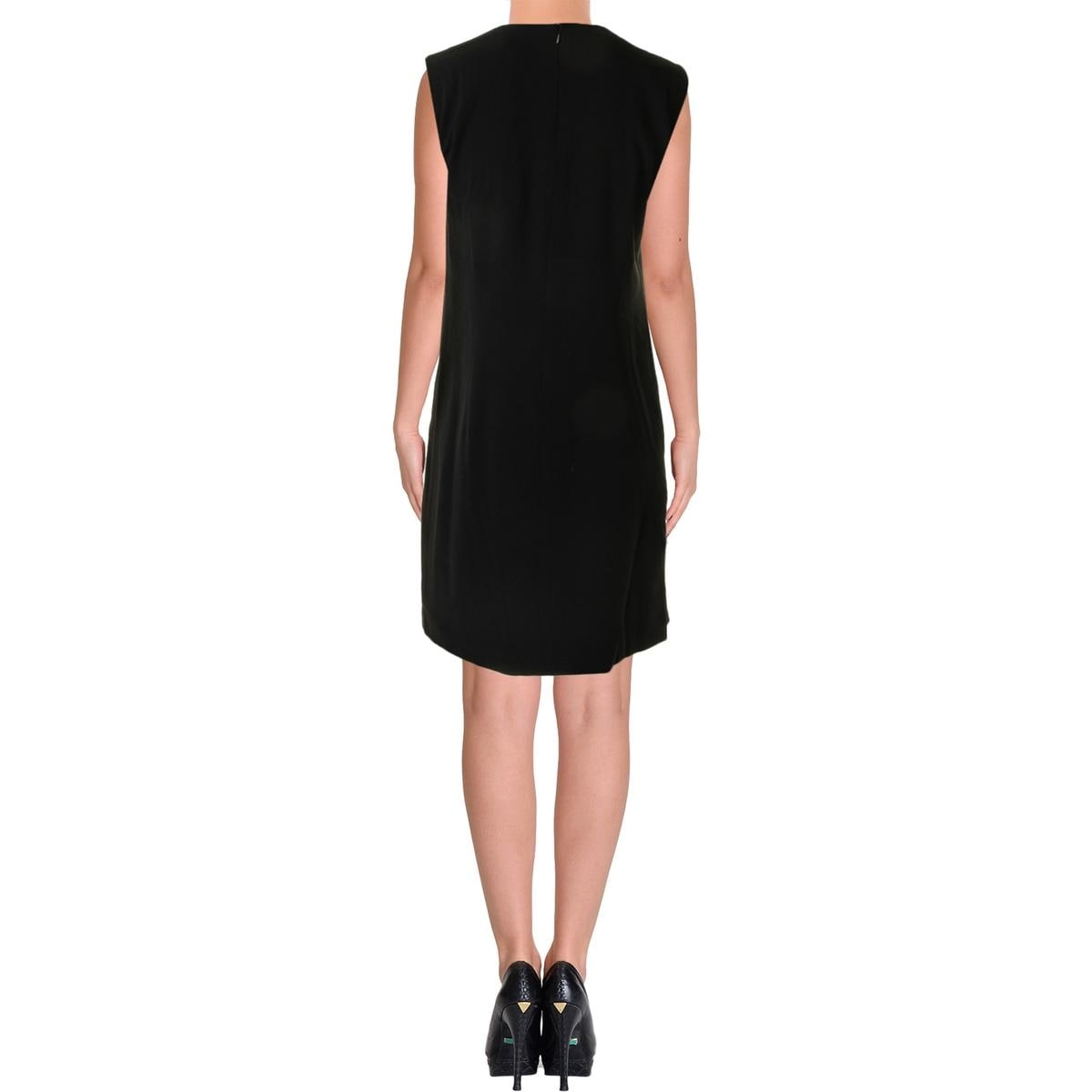 2dccfc084a Shop DKNY Womens Cocktail Dress Sleeveless Tuxedo - Free Shipping On Orders  Over  45 - Overstock - 14029552