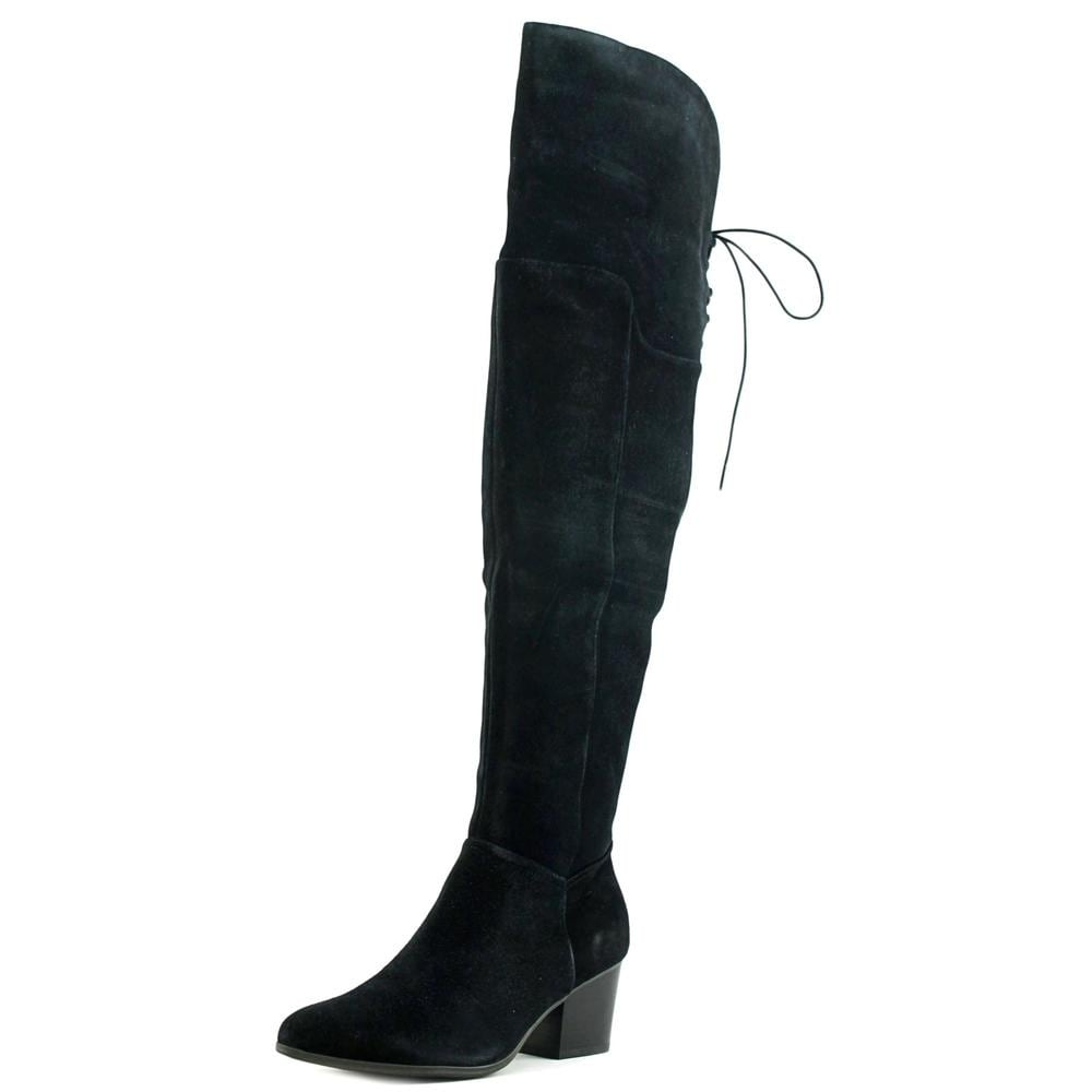 97342e44634 Shop Aldo Jeffres Women US 11 Black Over the Knee Boot - Free ...