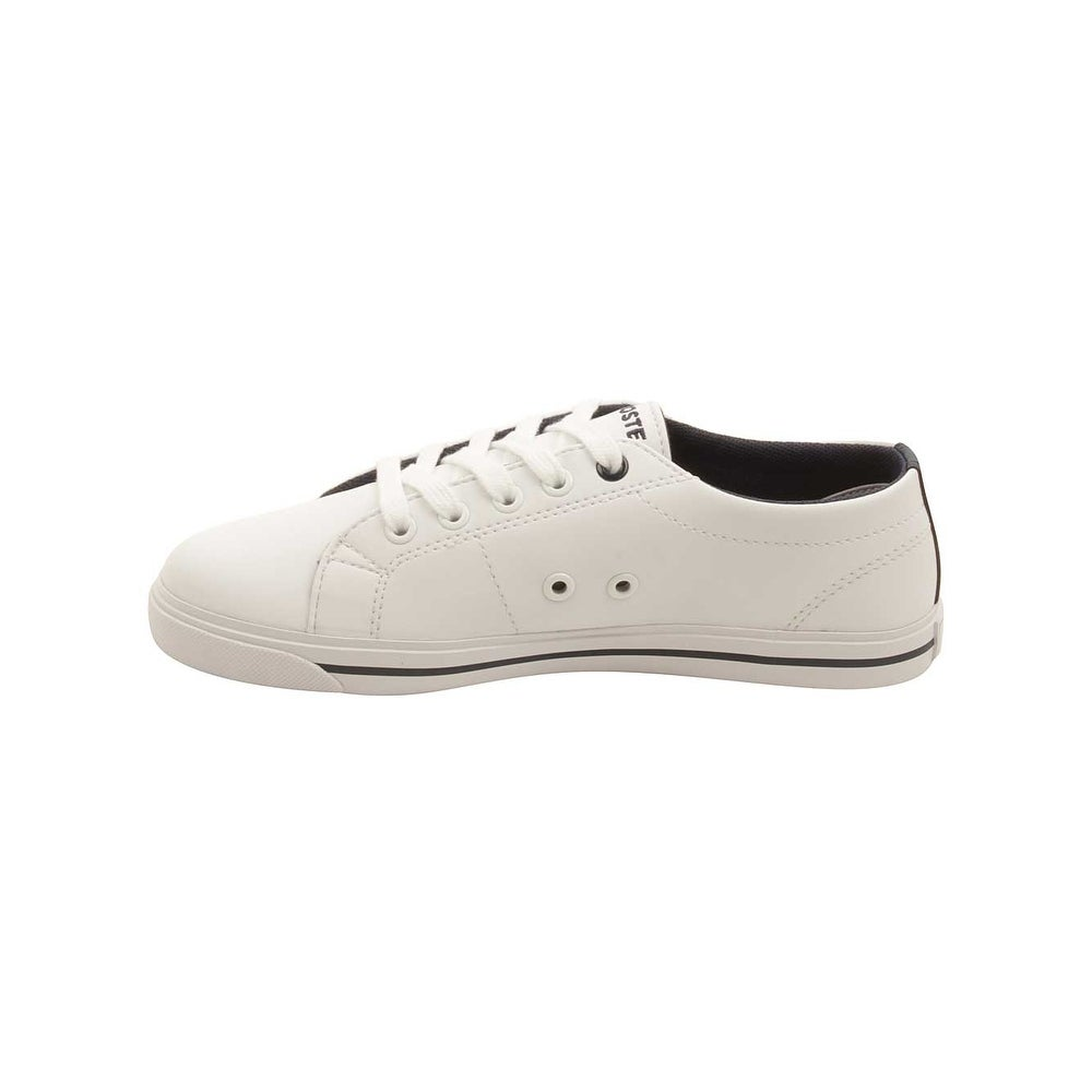 4a0da411ead5d Shop Lacoste Toddler Marcel 117 Sneakers in White Navy - Free Shipping  Today - Overstock - 16179504