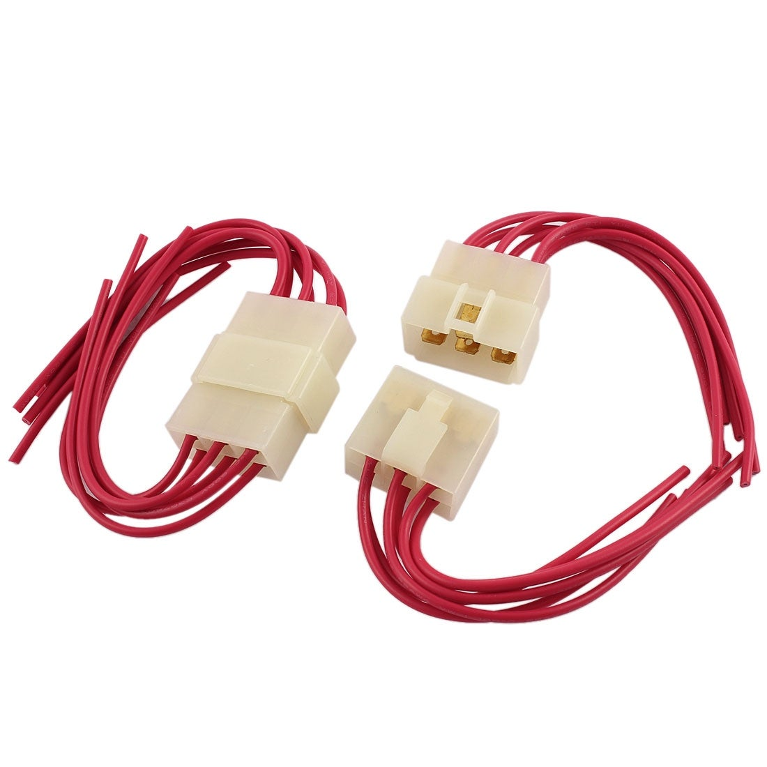 Shop 2 Pcs Car Audio Radio Stereo Wiring Harness 6 Pin Wire Adapter  Connectors - On Sale - Free Shipping On Orders Over $45 - Overstock.com -  18248691