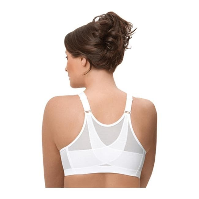 64f123ea3a9 Shop Glamorise Women s Magic Lift Posture Back White - On Sale - Ships To  Canada - Overstock - 9707442