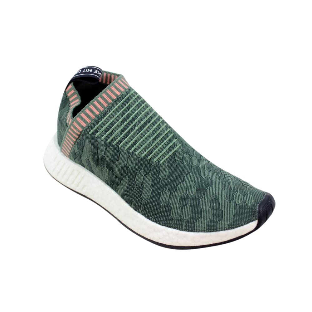 5e7f9682ba1db Shop Adidas NMD CS2 Primeknit W Green Pink BY8781 Women s - On Sale - Free  Shipping Today - Overstock - 27339239