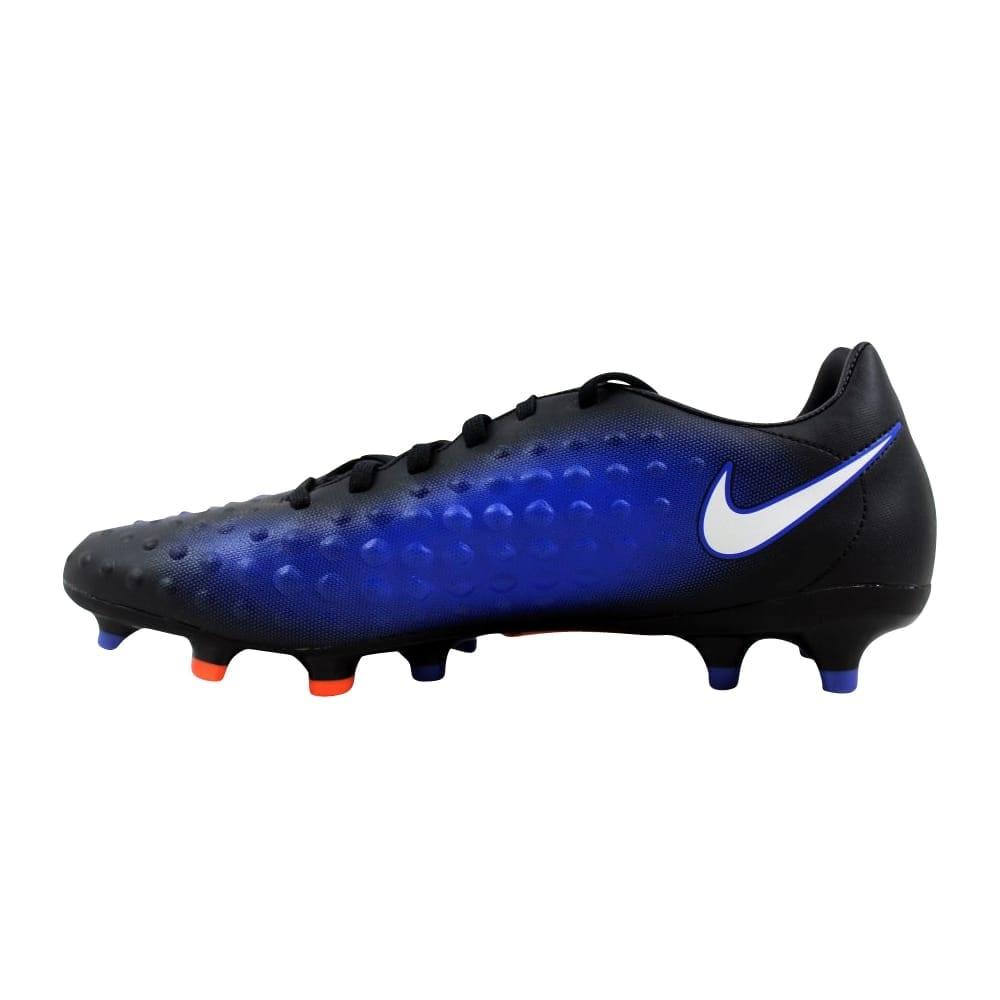 28eb6456e Shop Nike Magista Onda II FG Black/White-Paramount Blue 844411-015 Men's -  Free Shipping On Orders Over $45 - Overstock - 27339830