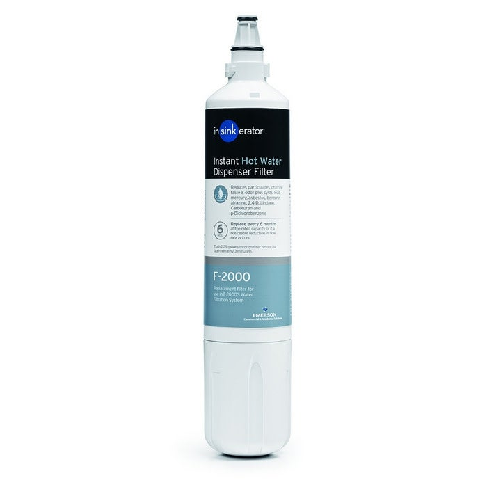 InSinkErator F-2000S Water Filter System Plus for Clean Tasting Water,  Includes 1 Filter