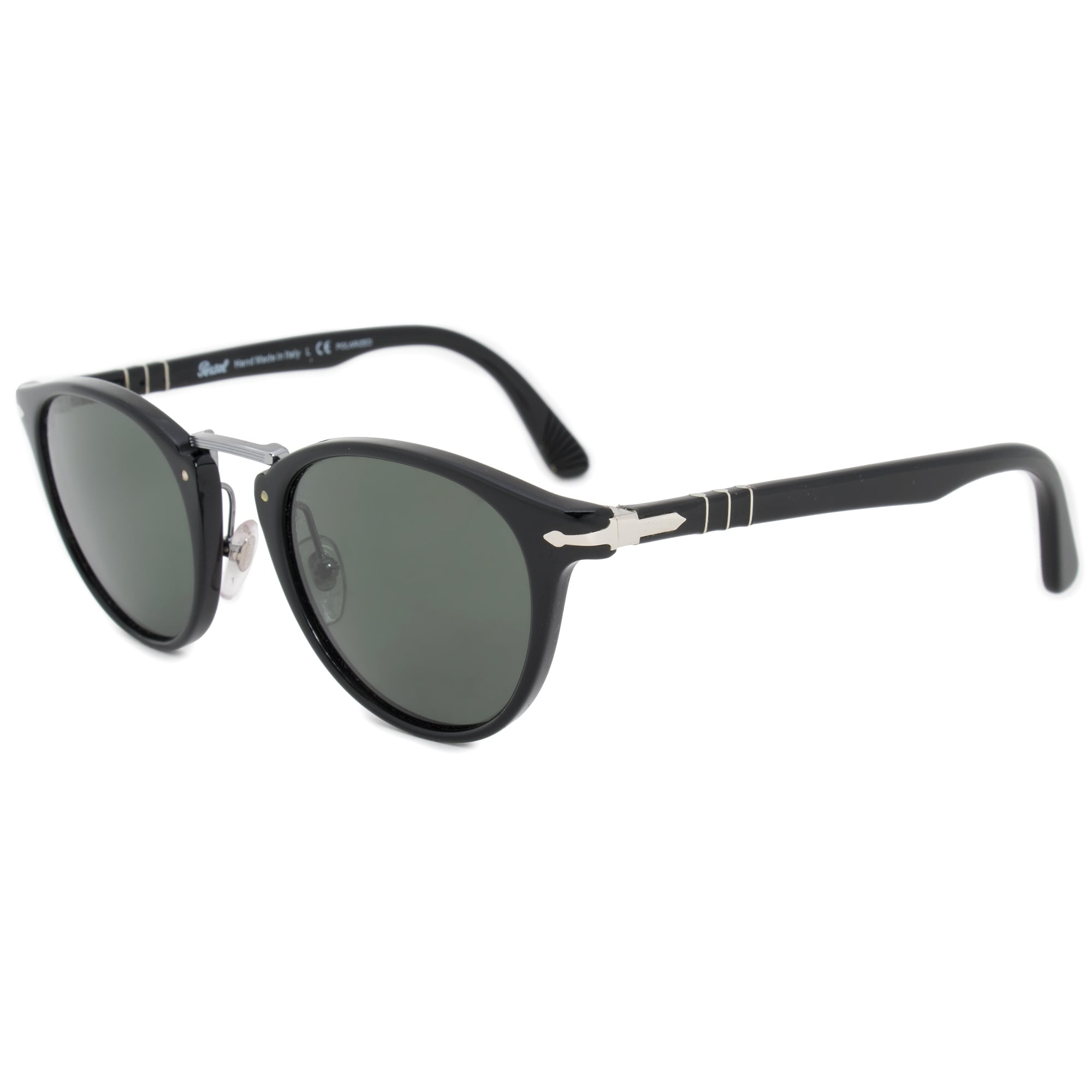 2bf481f4c097f Shop Persol Typewriter Edition Oval Sunglasses PO3108S 95 58 49 - Free  Shipping Today - Overstock - 21408647