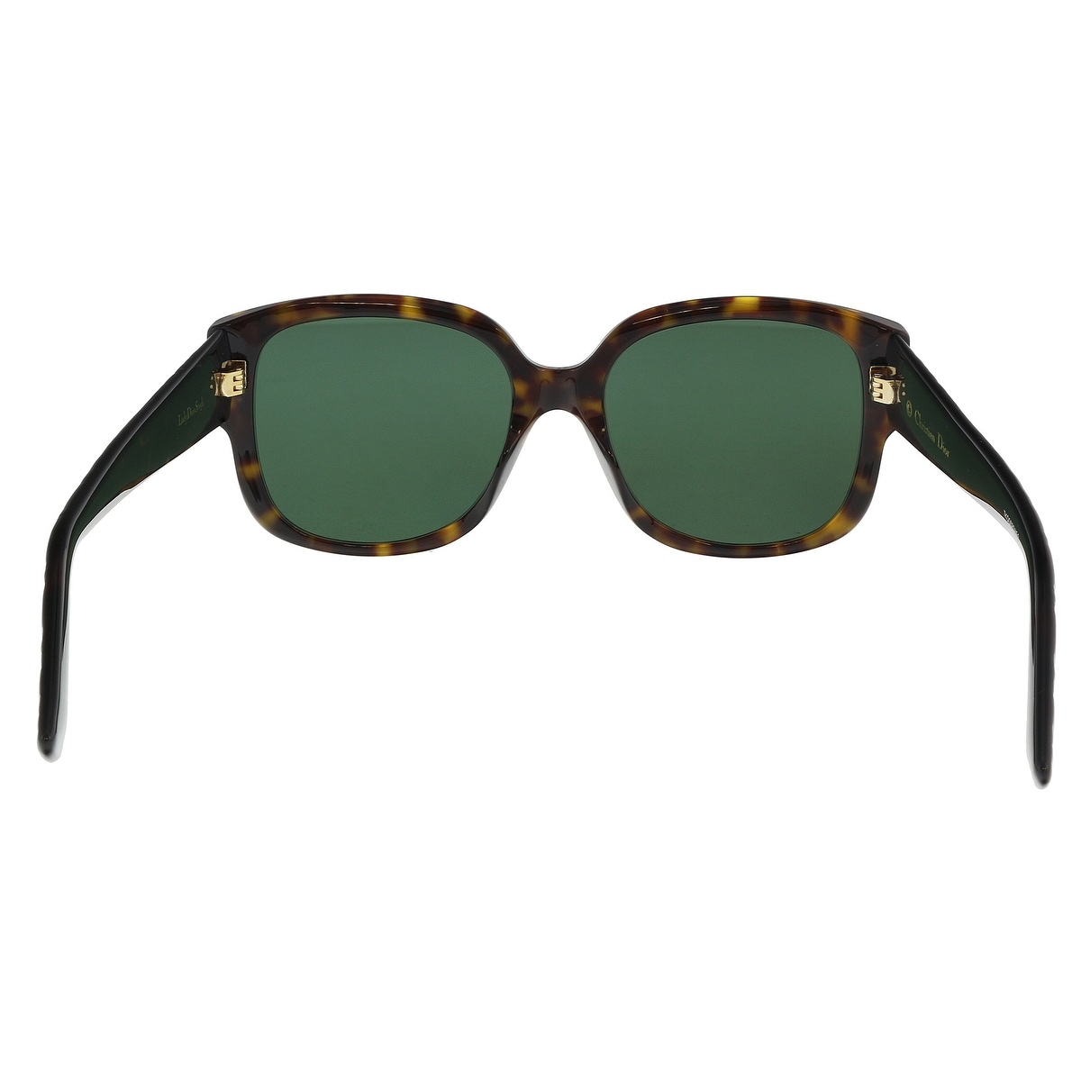 97a5e4bc0af69 Shop Christian Dior LADYDIORSTUDS 0086 Dark Havana Square Sunglasses - 54-18 -140 - Free Shipping Today - Overstock - 21158517