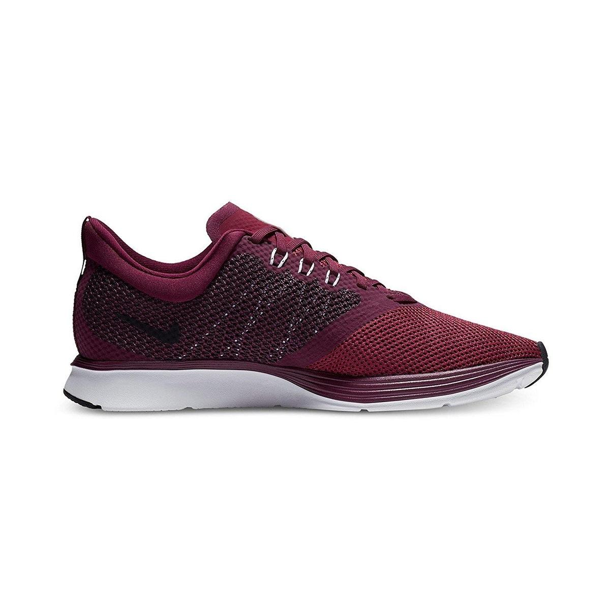 45207f482a19a Nike Womens Wmns Zoom Strike Bordeaux/Black Rush Maroon Wht Size 8
