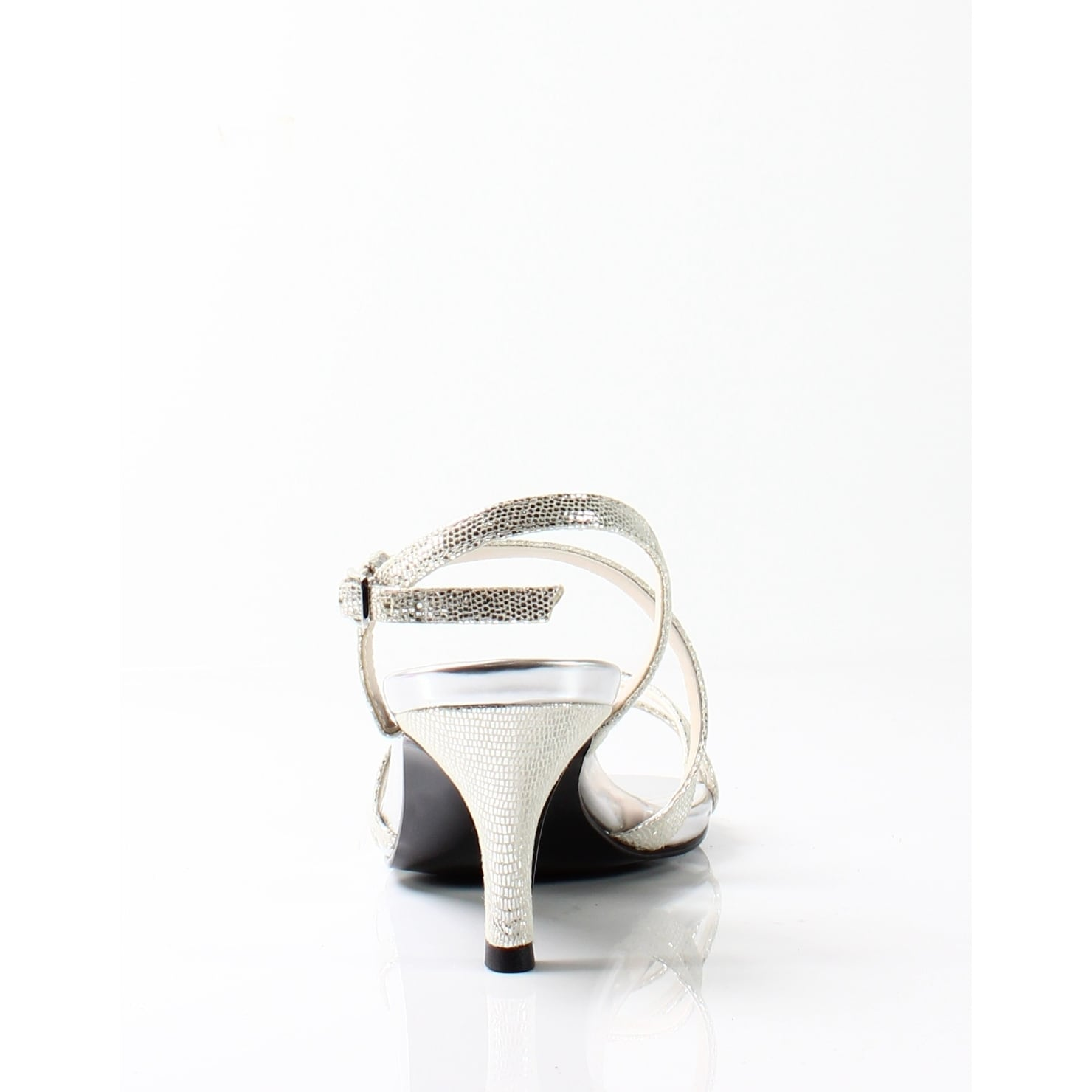 39d828167f9f8 Shop Caparros NEW Silver Women s Shoes Size 7.5M Theresa Strappy Sandal -  Free Shipping On Orders Over  45 - Overstock.com - 19877994