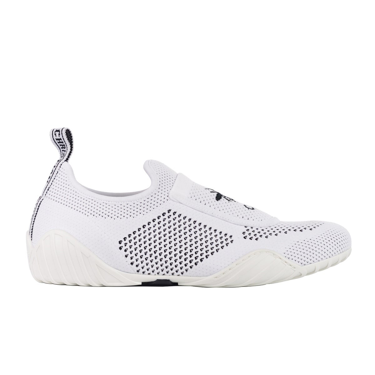 acb57fe9b7a Shop Dior Womens D-Fence White Leather Suede Low Top Sneakers - Free ...